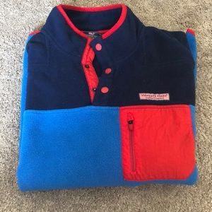 VINEYARD VINES MENS MULTICOLORED FLEECE